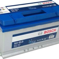 0092S40130 Аккумулятор 95Ah-12v BOSCH (S4013) (353x175x190),R,EN800