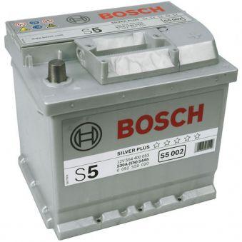 0092S50020 Аккумулятор 54Ah-12v BOSCH (S5002) (207x175x190),R,EN530. Фото 1