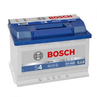 0092S40090 Аккумулятор 74Ah-12v BOSCH (S4009) (278x175x190),L,EN680. Фото 1