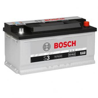 0092S30120 Аккумулятор 88Ah-12v BOSCH (S3012) (353x175x175),R,EN740. Фото 1