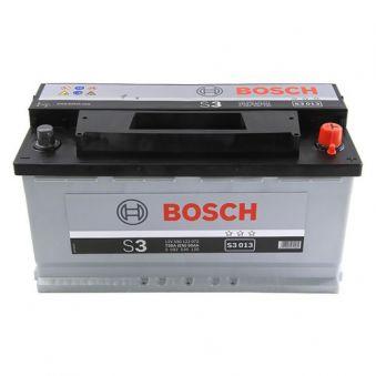 0092S30130 Аккумулятор 90Ah-12v BOSCH (S3013) (353x175x190),R,EN720. Фото 1