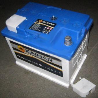 Аккумулятор 60Ah-12v KAINAR (242х175х190),R,EN530. Фото 1