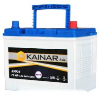 070 341 0 110 Аккумулятор 75Ah-12v KAINAR Asia (258x173x220),R,EN640