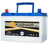 090 341 0 110 Аккумулятор 100Ah-12v KAINAR Asia (304x173x220),R,EN800