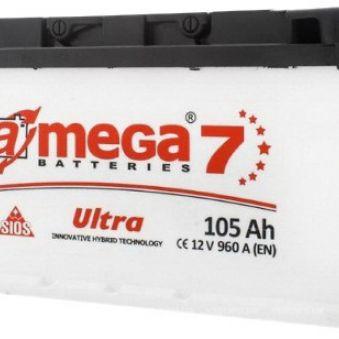 A-MEGA Ultra (М7) 6СТ-105-А3 EN960. Фото 1