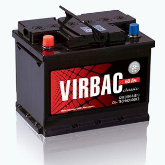 VIRBAC CLASSIC (М2) 6СТ-60-А3 EN480. Фото 1