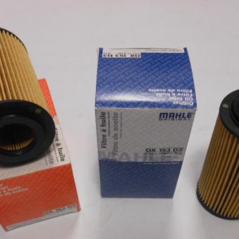 OX153D3 Фильтр масляный двигателя MB SPRINTER I (901), VITO (638), C (W202) 97- (пр-во KNECHT-MAHLE). Фото 1