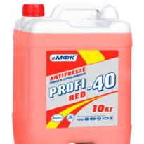 Антифриз МФК PROFI Red -40 10кг