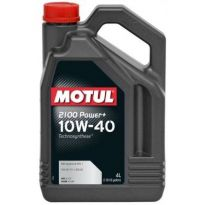масло 10w40 MOTUL 2100 power+ 4 л