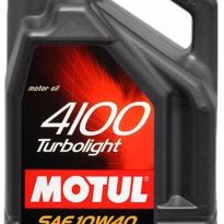 масло 10w40 MOTUL 4100 TURBOLIGHT 5 л
