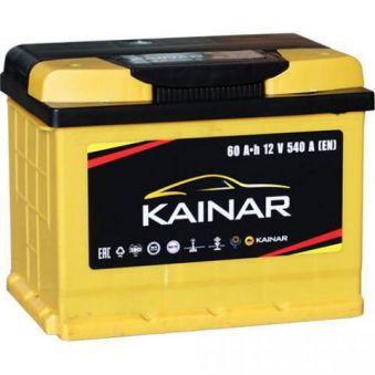 060 261 0 120 ЖЧ Аккумулятор 60Ah-12v KAINAR Standart+ (242х175х190),R,EN550. Фото 1