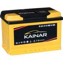 075 261 1 120 ЖЧ Аккумулятор 75Ah-12v KAINAR Standart+ (278x175x190),L,EN690