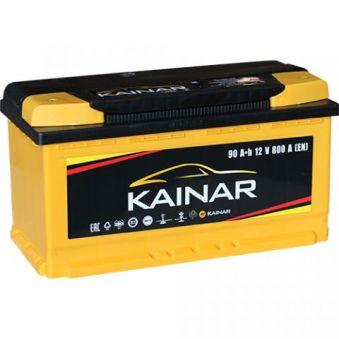 090 261 0 120 ЖЧ Аккумулятор 90Ah-12v KAINAR Standart+ (353х175х190),R,EN800. Фото 1