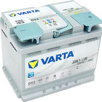 560 901 068 Аккумулятор 60Ah-12v VARTA Silver Dynamic AGM (D52 ) (242х175х190),R,EN680