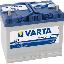 570 412 063 Аккумулятор 70Ah-12v VARTA BD(E23) (261х175х220),R,EN630