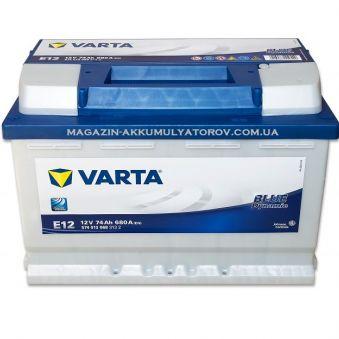 574 013 068 Аккумулятор 74Ah-12v VARTA BD(E12) (278x175x190),L,EN680. Фото 1