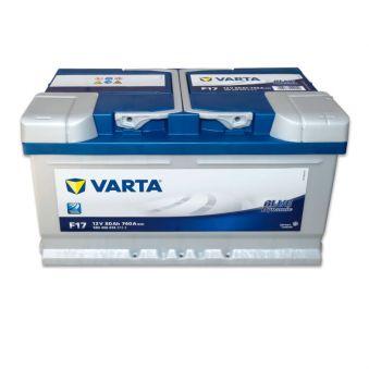 580 406 074 Аккумулятор 80Ah-12v VARTA BD(F17) (315х175х175),R,EN740. Фото 1