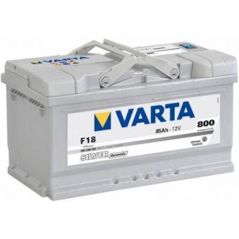585 200 080 Аккумулятор 85Ah-12v VARTA SD(F18) (315х175х175),R,EN800. Фото 1