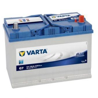 595 404 083 Аккумулятор 95Ah-12v VARTA BD(G7) (306х173х225),R,EN830 Азия. Фото 1