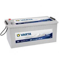 Аккумулятор 215Ah-12v VARTA PM Blue(N7) (518х276х242),L,1150